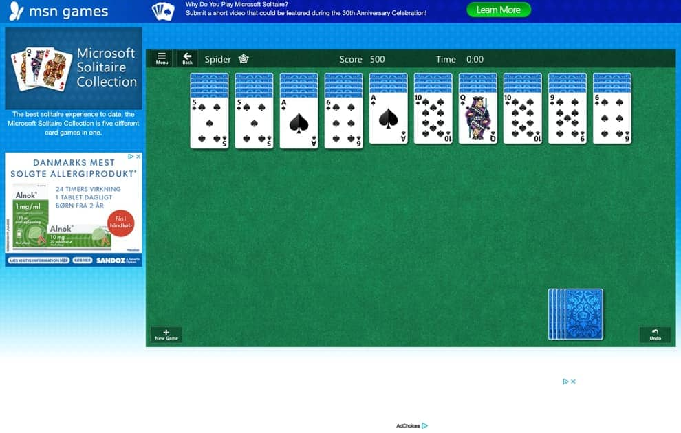 games Microsoft solitaire freecell